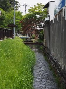 長井市水路