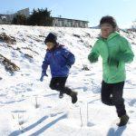 子ども達と遊ぶ冬(後半)