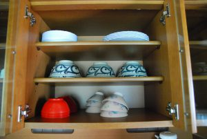木湖里館の食器